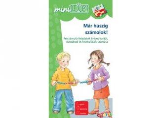 Lük Mini, Már húszig számolok! Fejszámoló feladatok (egyszemélyes, fejlesztőjáték, 5-12 év)