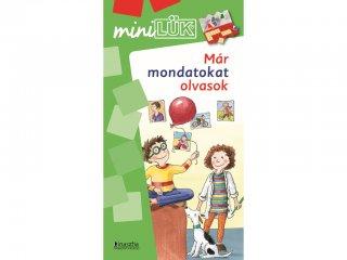 Lük Mini, Már mondatokat olvasok (egyszemélyes, szövegértési játék, 5-8 év)