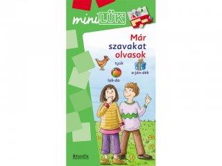 Lük Mini, Már szavakat olvasok (egyszemélyes, szövegértési játék, 5-8 év)