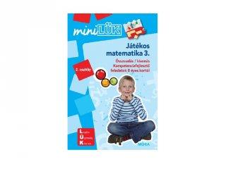 Lük Mini Matematika 3. osztály, egyszemélyes fejlesztő logikai játék (8-10 év)
