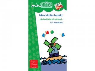 Lük Mini, Mire iskolás leszek! 2. (egyszemélyes, iskolai előkészítő játék, 5 éves kortól)