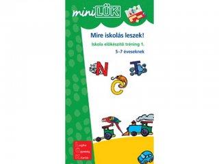 Lük Mini, Mire iskolás leszek! (egyszemélyes, iskolai fejlesztőjáték, 5 éves kortól)