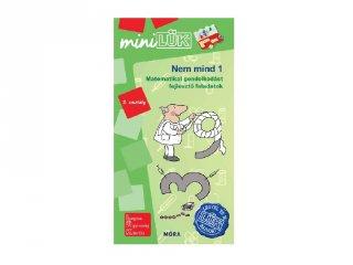Lük Mini Nem mind 1 matematika 2. osztály, egyszemélyes fejlesztő logikai játék (7-9 év)