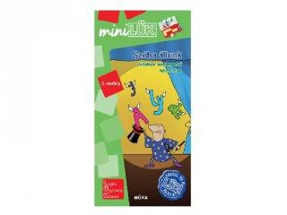 Lük Mini Szóba állunk 2. osztály, egyszemélyes fejlesztő logikai játék (7-9 év)