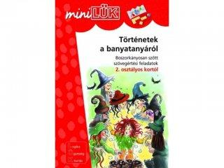 Lük Mini, Történetek a banyatanyáról, boszorkányosan szőtt szövegértési feladatok (egyszemélyes fejlesztőjáték, 8 éves kortól)