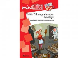 Lük Mini, Tréfás Till megunhatatlan kalandjai, szövegértést, és olvasási készséget fejlesztő füzet (egyszemélyes, fejlesztőjáték, 8 éves kortól)