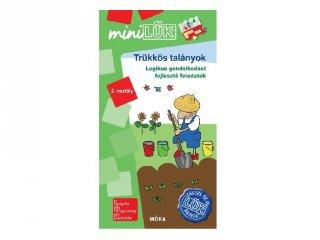 Lük Mini Trükkös talányok 2. osztály, egyszemélyes fejlesztő logikai játék (7-9 év)