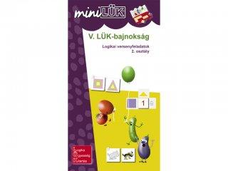 Lük Mini, V. LÜK bajnokság, Logikai versenyfeladatok, 2. osztály (egyszemélyes, logikai fejlesztőjáték, 7-10 év)