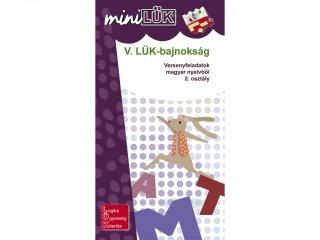 Lük Mini, V. LÜK bajnokság magyar nyelvtanból 2.0 (egyszemélyes, fejlesztőjáték, 8 éves kortól)