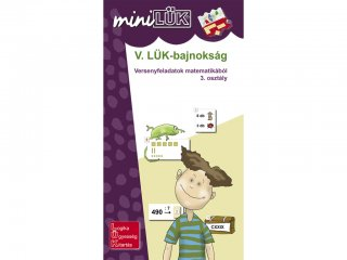 Lük Mini, V. LÜK bajnokság matematikából 3. osztály (egyszemélyes, logikai fejlesztőjáték, 8 éves kortól)