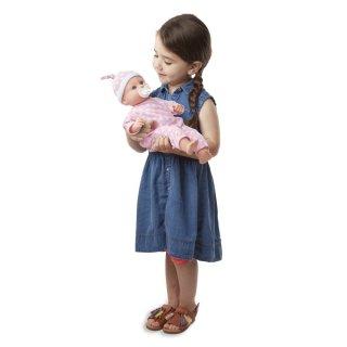 Luke és Lucy ikerbabák, Melissa&Doug szerepjáték (1,5-6 év)
