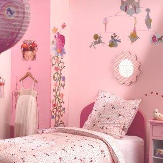 Magasságmérő falmatrica, Margarita hercegnő (djeco, Princess  Marguerite, faldekoráció gyerekeknek, 0-12 év)