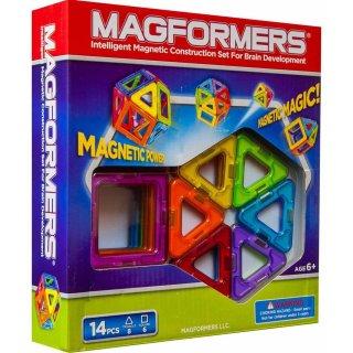 Magformers 14 db-os (különleges, mágneses építőjáték, 3-12 év)