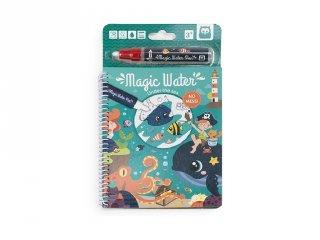 Magic Water, A tenger alatt, vízzel festős kreatív készlet (3-6 év)