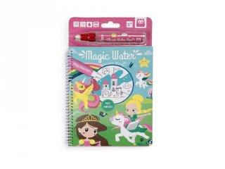 Magic Water, hercegnős vízzel festős kreatív készlet (3-6 év)