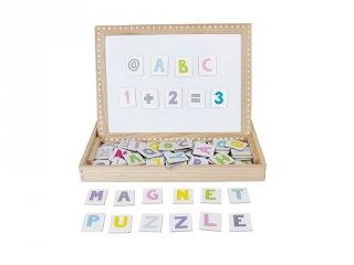 Mágneses ABC tábla, tanulást segítő játék (Jabadabado, 3-8 év)