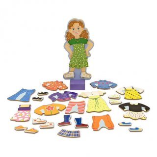 Mágneses fa öltöztető játék, Maggie Leigh (MD, 3-8 év)