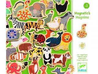 Mágneses fajáték, Magnimo (Djeco, 3124, 36 db-os memóriajáték, 2-5 év)