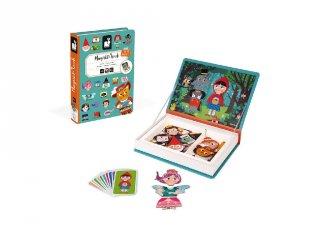 Mágneses könyv Janod kreatív játék, tündérmesék (2588, 3-8 év)