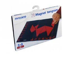 Mágneses Miniland tangram, logikai utazójáték (95007, 5-8 év)