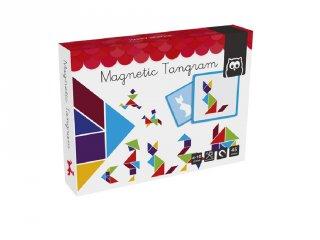 Mágneses tangram, logikai játék (4-10 év)