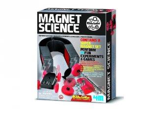 Mágneses tudományos játék készlet (4M, tudományos játék, 6-10 év)
