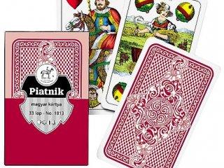 Magyar kártya piros dobozos (Piatnik, családi, kártyajáték, 5-99 év)