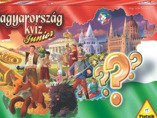 Magyarország kvíz Junior (Piatnik, családi-, és parti kvízjáték, 8-99 év)