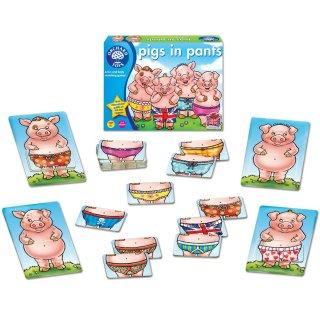 Malackák nadrágban (Orchard, pigs in pants, párosító társasjáték, 4-8 év)