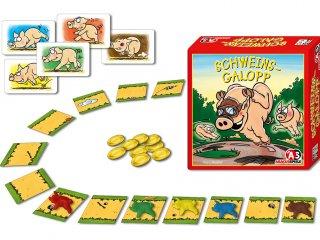 Malacvágta (Schweinsgalopp, családi kártyajáték, 6-99 év)