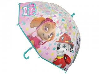 Mancs őrjárat esernyő, Lányos (Paw Petrol, gyermek kiegészítő, 3-7 év)