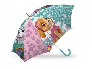 Mancs őrjárat esernyő, Skye (Paw Petrol, gyermek kiegészítő, 3-7 év)