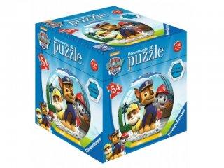 Mancs őrjárat gömb puzzle 54 db-os (Paw Petrol, Ravensburger puzzle, 7-12 év)