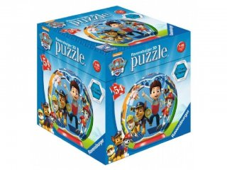 Mancs őrjárat gömb puzzle, Ryder és csapata (Paw Petrol, Ravensburger puzzle, 7-12 év)
