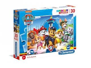 Mancs őrjárat Supercolor kirakó, 30 db-os puzzle (CLEM, 3-6 év)