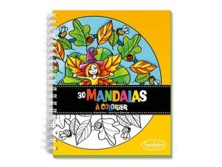 Mandala színező füzet (SentoSphére, kreatív mandala színező, 4-99 év)