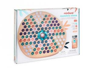 Mandalakészítő golyókkal, Miniland kreatív játék (75011, 4-7 év)