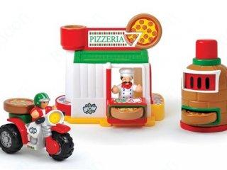 Márió pizzériája (Wow Toys, szerepjáték, 1-5 év)