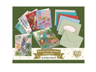 Martyna levélíró készlet, Djeco Lovely paper kreatív szett - 3605