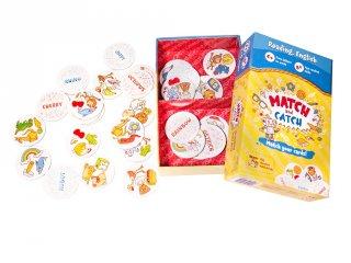 Match and Catch, Kapd el!, Brainy Brand angol tanulást segítő kártyajáték (4-12 év)
