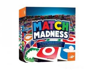 Match Madness pörgős családi társasjáték (8-99 év)