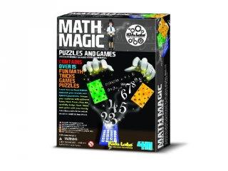Matek mágus, varázslatos matematika (4M, bűvészkedős játék, 8-14 év)
