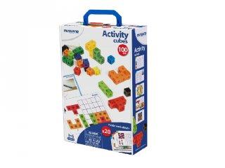 Matematika kockákkal (Miniland, 95203, tanulást segítő játék, 5-8 év)