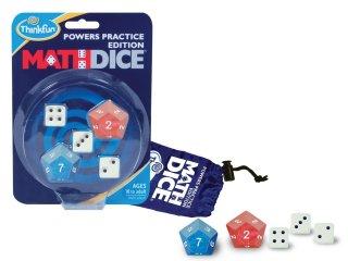 Math Dice Power, Hatványozás (Thinkfun, 31066, matematikai, logikai kockajáték, 8-99 év)