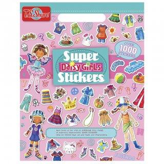 Matricakönyv: Csini csajok (TS Shure, 6304, Super Stickers: Daisy Girls, 1000 db-os, 3-12 év)