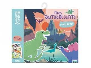 Matricás képkészítő Dinoszaurusz, kreatív készlet (AU, 3-6 év)