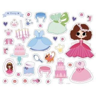 Matricás képkészítő Hercegnők, kreatív készlet (AU, 3-6 év)
