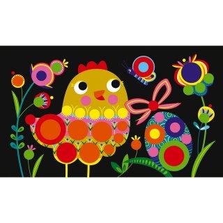 Matricás képkészítő Tavasz, Janod kreatív szett (3-6 év)