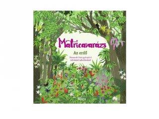 Matricavarázs Erdő, felnőtt színező (MO)
