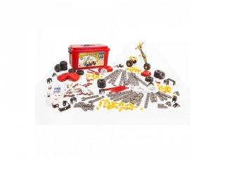 Mecaniko 191 db-os építőjáték, Miniland kreatív játék (32657, 4-9 év)